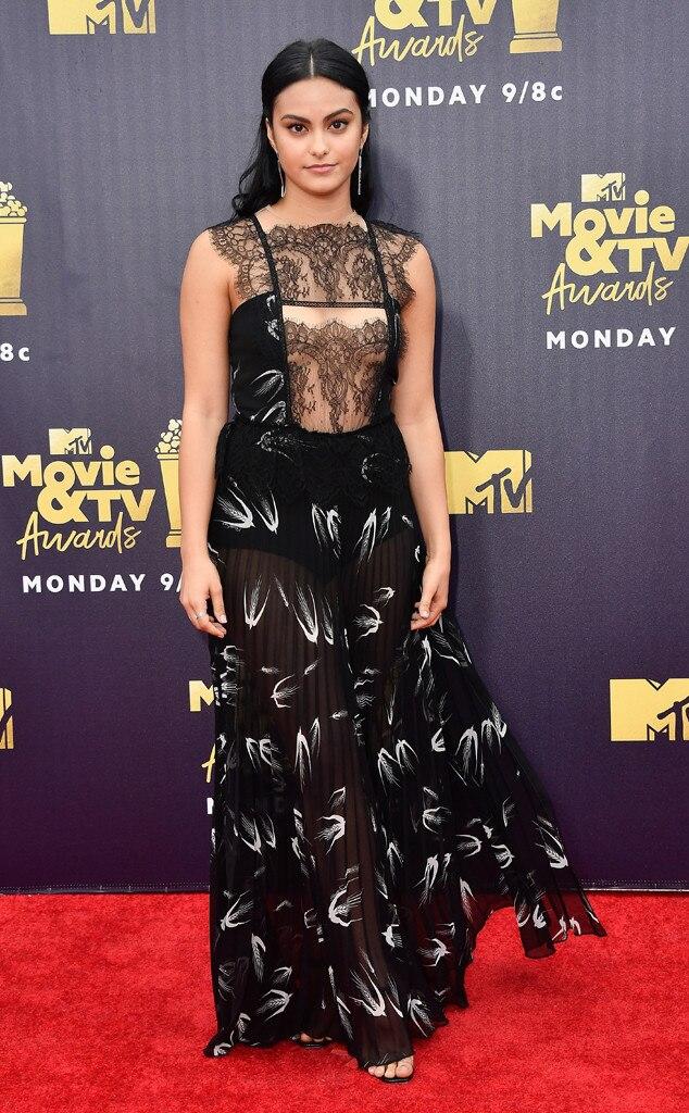 Camila Mendes, 2018 MTV Movie & TV Awards, Arrivals