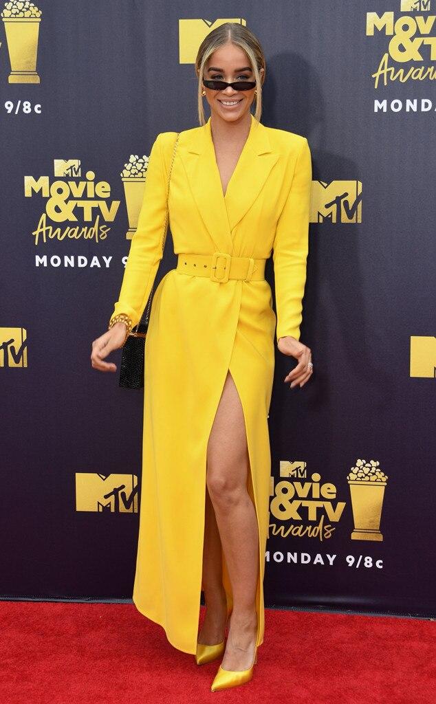 ESC: Jasmine Sanders, 2018 MTV Movie & TV Awards, Arrivals