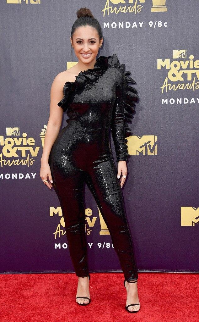 Francia Raisa from MTV Movie & TV Awards 2018: Red Carpet ...