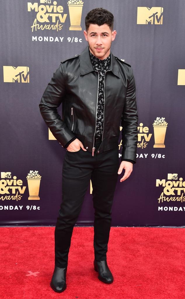 Nick Jonas, 2018 MTV Movie & TV Awards, Arrivals