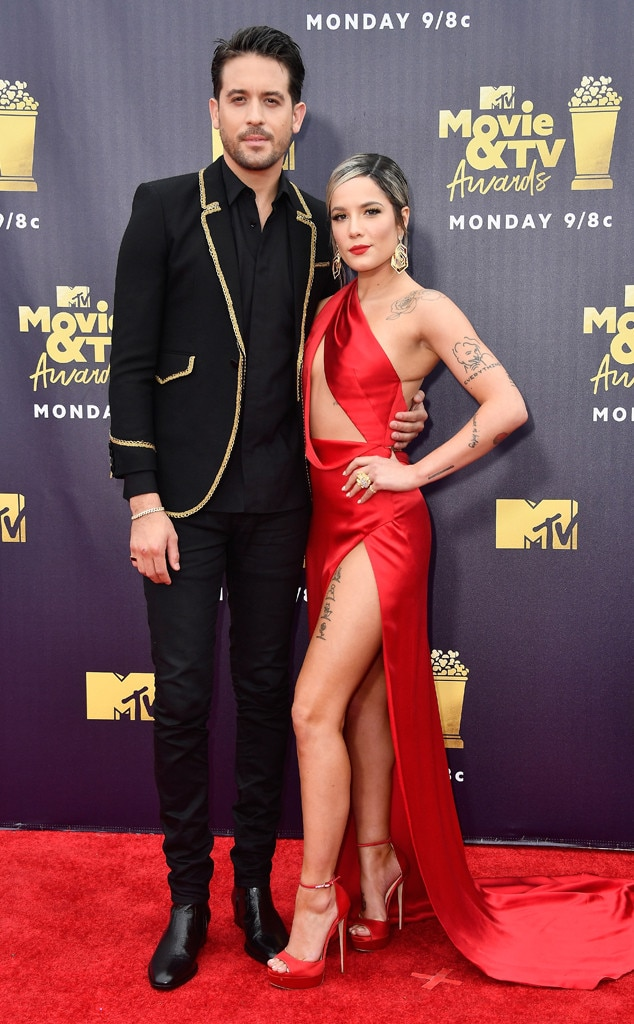 G-Eazy, Halsey, 2018 MTV Movie & TV Awards, Arrivals
