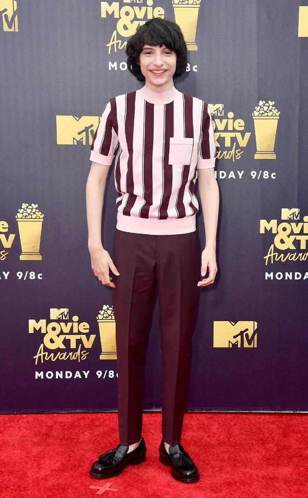 Finn Wolfhard, 2018 MTV Movie & TV Awards, Arrivals