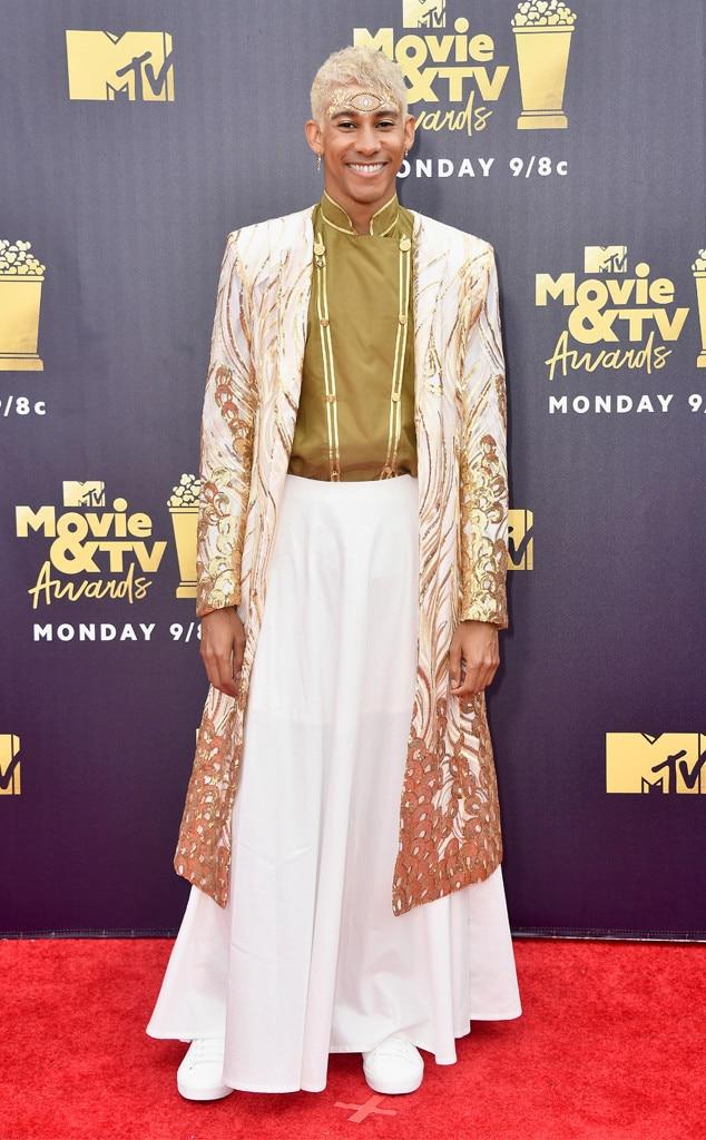 Keiynan Lonsdale, 2018 MTV Movie & TV Awards, Arrivals