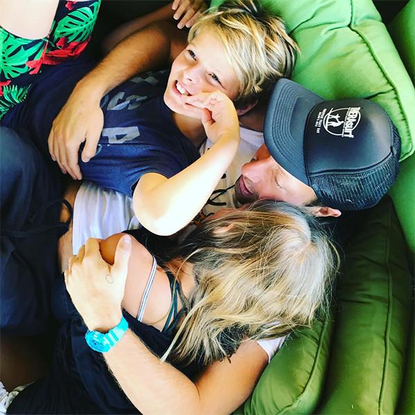 Chris Martin, Moses Martin, Apple Martin, Gwyneth Paltrow, Father's Day 2018