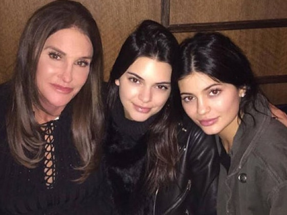 Kendall and Kylie Jenner Post Cute Throwback Photos in Father's Day Tribute to Caitlyn Jenner