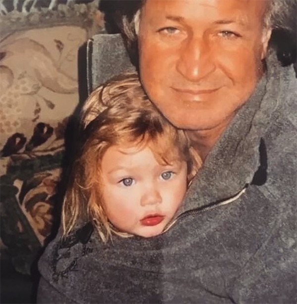 gigi hadid 39 s tribute to dad mohamed hadid from celebs. Black Bedroom Furniture Sets. Home Design Ideas
