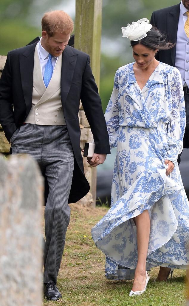Meghan Markle, Prince Harry, Celia McCorquodale Wedding