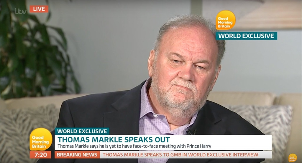 Prince Harry Asked Meghan Markle's Dad to 'Give Donald Trump a Chance'