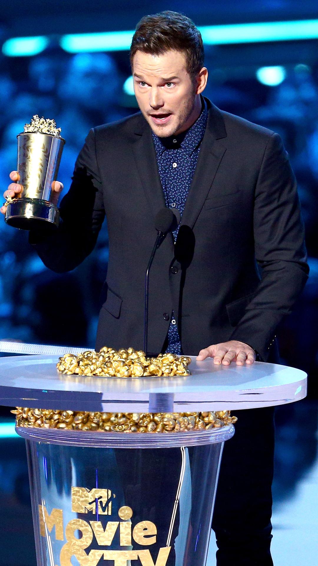 Chris Pratt, 2018 MTV Movie & TV Awards