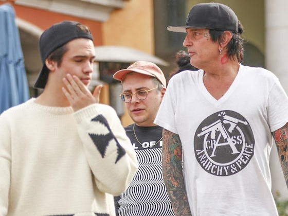 Brandon Lee Posts Video of Dad Tommy Lee Unconscious During Father's Day Social Media Feud