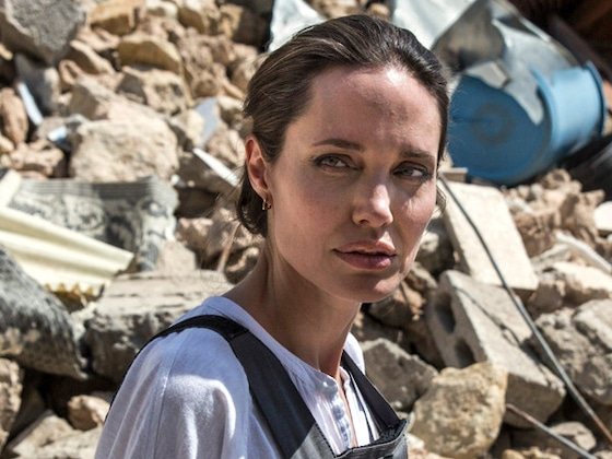 Angelina Jolie Visits Iraq as Her Kids Spend Father's Day With Brad Pitt in London
