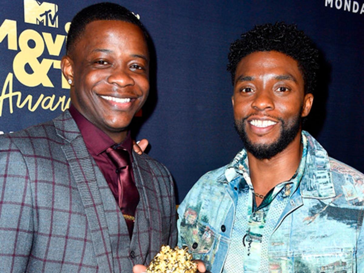 Chadwick Boseman Dedicates MTV Movie & TV Awards Win to Waffle House Hero James Shaw Jr.