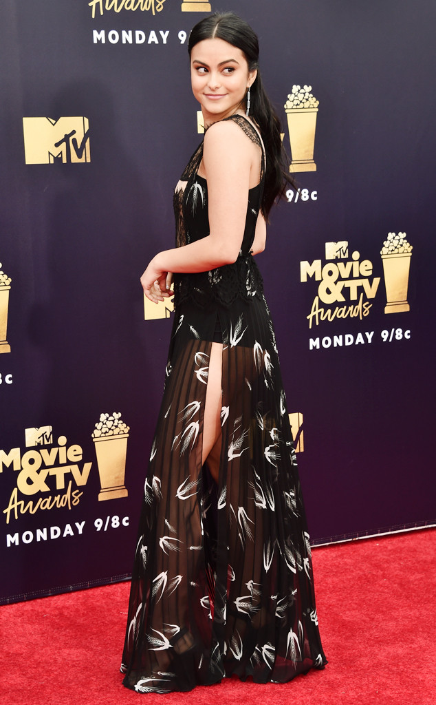 ESC: Camila Mendes, 2018 MTV Movie & TV Awards, Arrivals