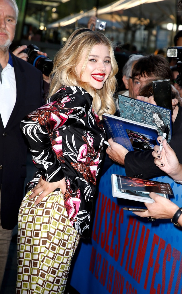 Chloe Grace Moretz -  Silly Chloe! The actresslooks beautiful at the  Come As You Are  Premiere during the 7th Champs Elysees Film Festivalin Paris.
