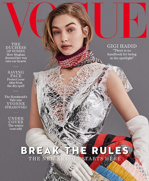 Gigi Hadid, Vogue Australia