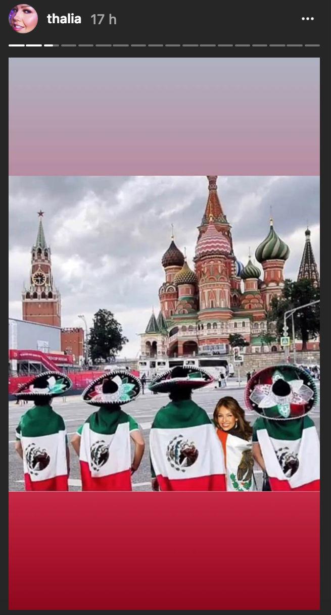 Thalia, Mexico triunfo con Alemania
