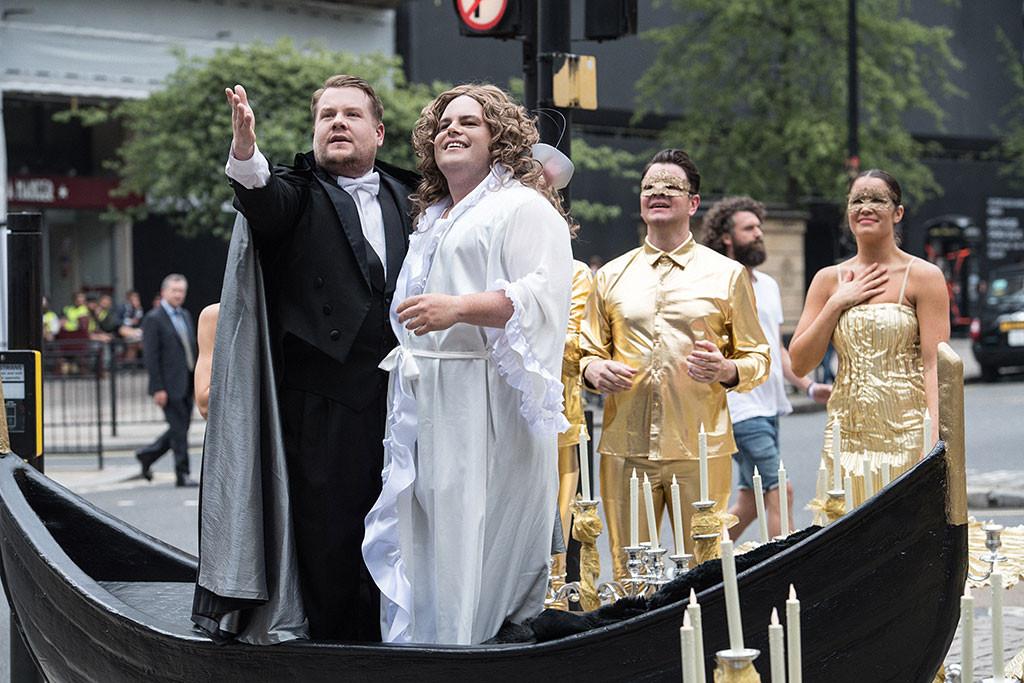 James Corden, Josh Gad, Crosswalk the Musical