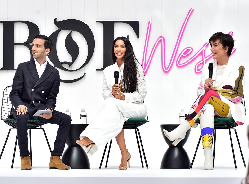 Imran Amed, Kim Kardashian West, Kris Jenner, Business of Fashion West Summit