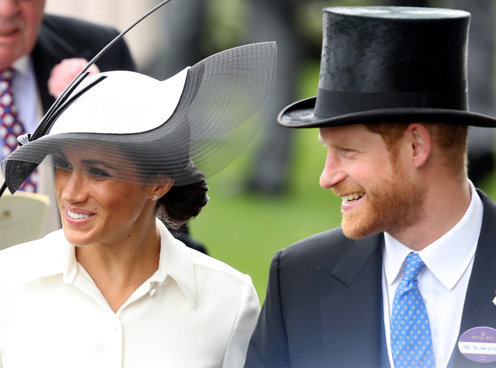 Meghan Markle, Prince Harry, Ascot Day 1