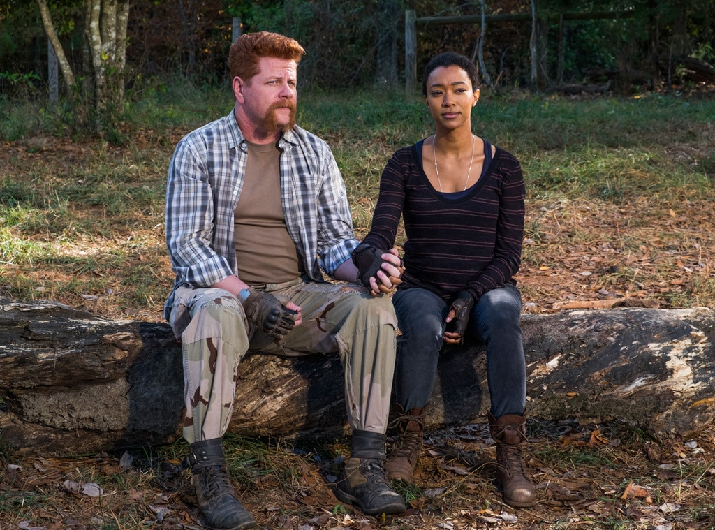 The Walking Dead, Michael Cudlitz, Sonequa Martin-Green
