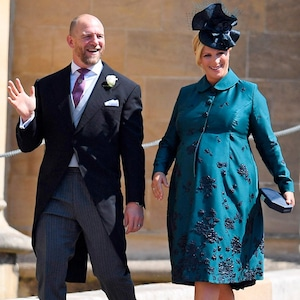 Zara Phillips, Mike Tindall, Royal Wedding Arrivals