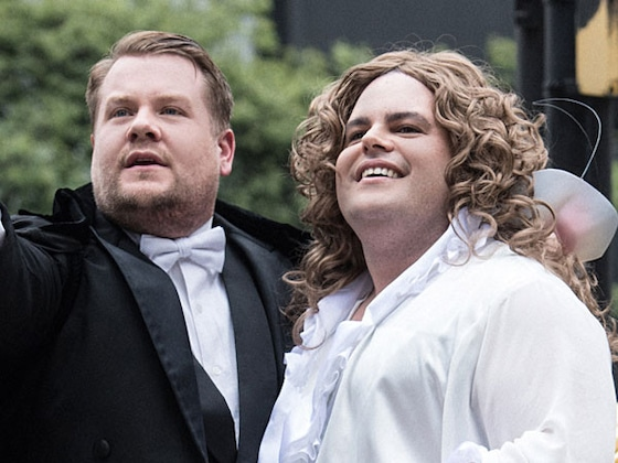"Josh Gad and James Corden Perform Andrew Lloyd Webber Songs in London ""Crosswalk the Musical"""