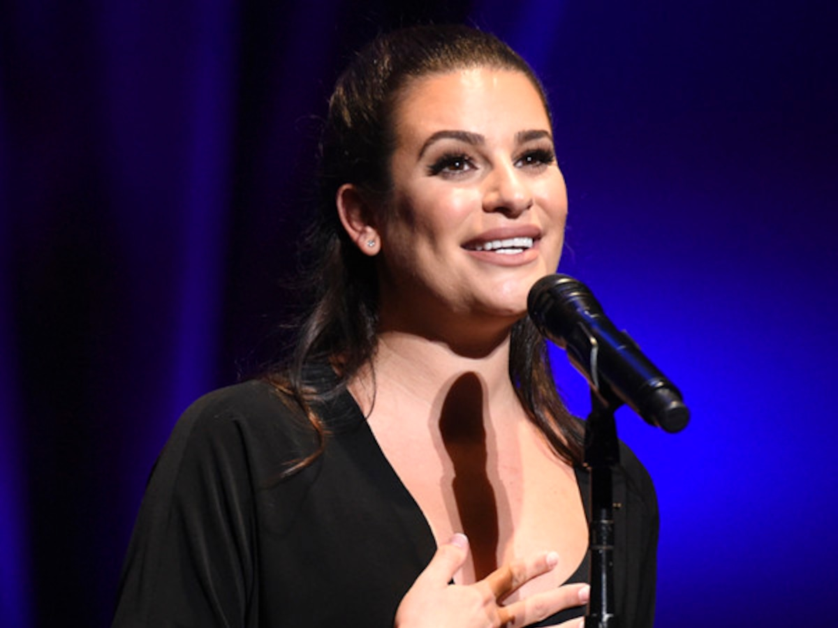 "Lea Michele Opens Up About Her Exciting Year On and Off Stage: ""I'm Just Really Grateful"""