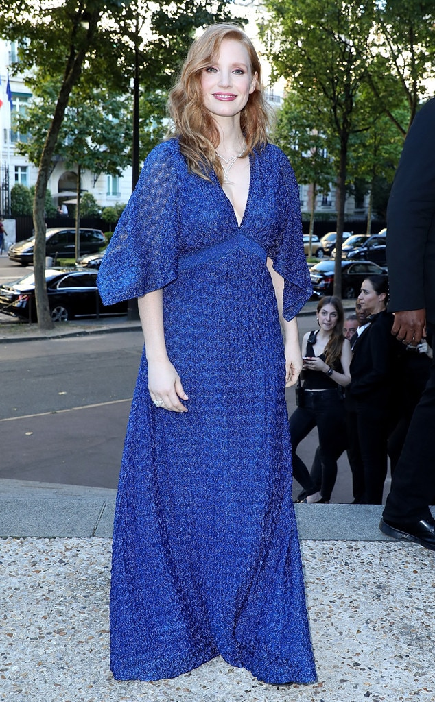 Jessica Chastain -  Blue delight!