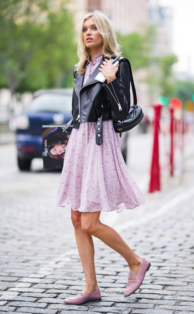 ESC: Elsa Hosk, VS Models off Duty