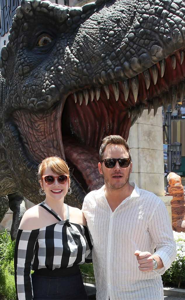 Chris Pratt, Bryce Dallas Howard, Jurassic World: Fallen Kingdom