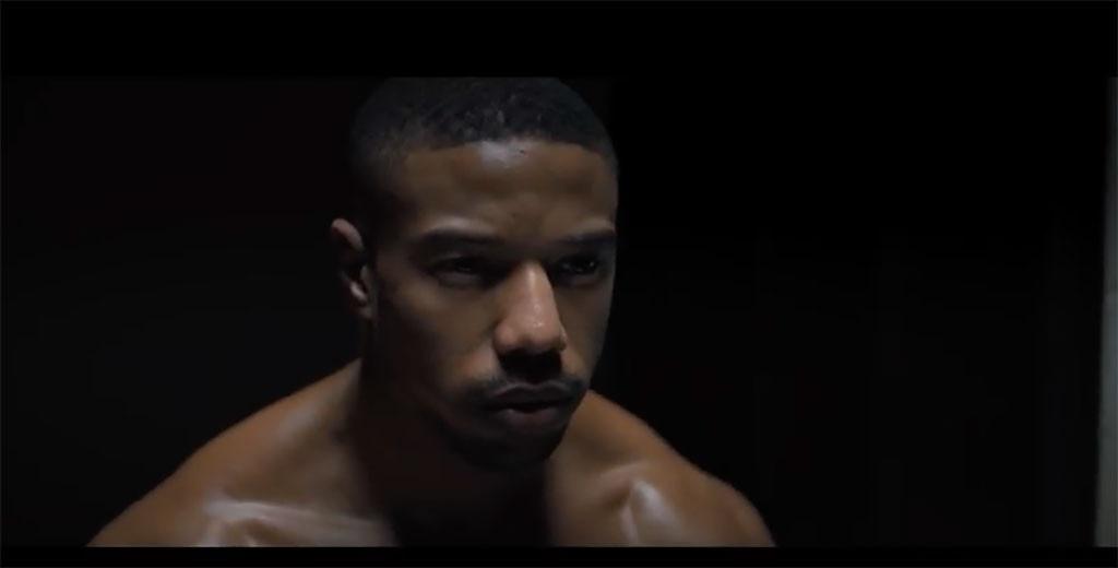 MIchael B. Jordan, Creed II, Trailer