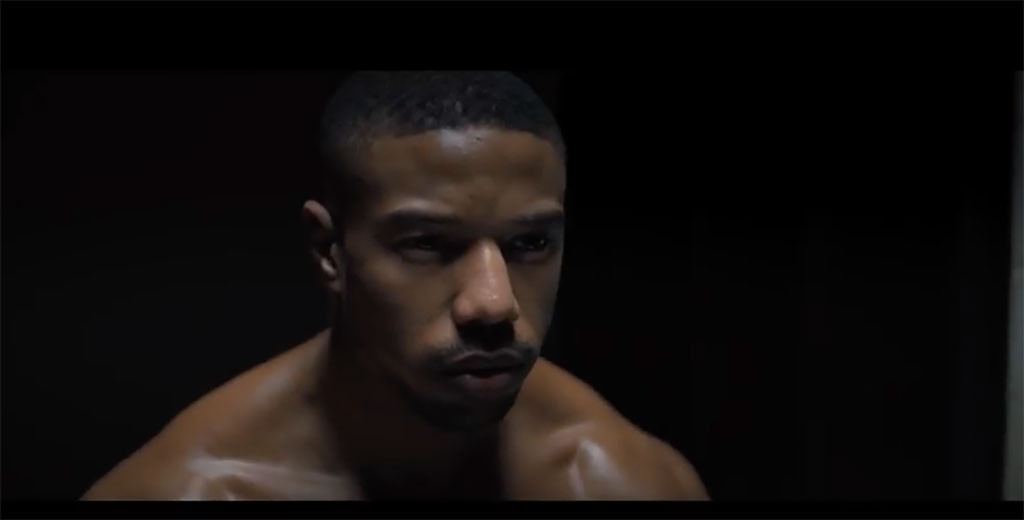 MIchael B. Jordan, Creed II, Trailer