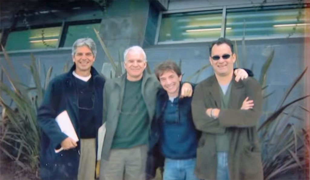 Steve Martin, Martin Short, Tom Hanks, Walter Parks, Jimmy Kimmel Live!