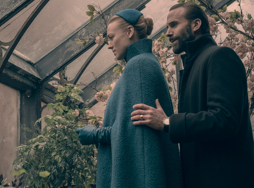 Yvonne Strahovski & Joseph Fiennes -  The  Handmaid's Tale  couple received their first-ever Emmy nominations for their work on the Netflix series. Strahovski is nominated for Supporting Actress in a Drama Series and Fiennes is nominated for Supporting Actor in a Drama Series.