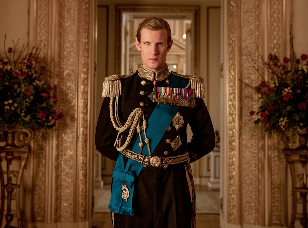 Matt Smith - The Crown 's Matt Smith is also nominated for his first Emmy for his work in the Netflix series. Smith is up for the Supporting Actor in a Drama Series award.