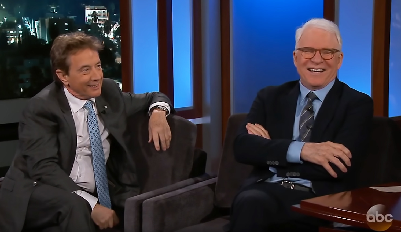 Jimmy Kimmel Live, Steve Martin, Martin Short