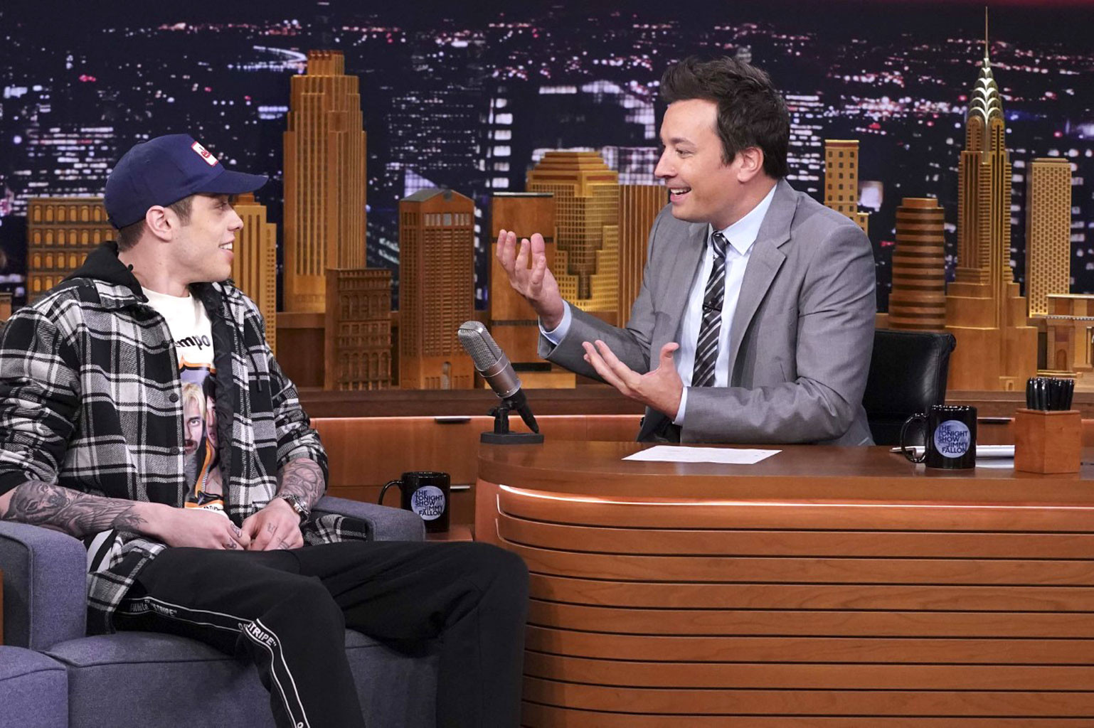 Image result for pete davidson jimmy fallon
