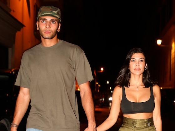 Inside Kourtney Kardashian and Younes Bendjima's Romantic Rome Getaway