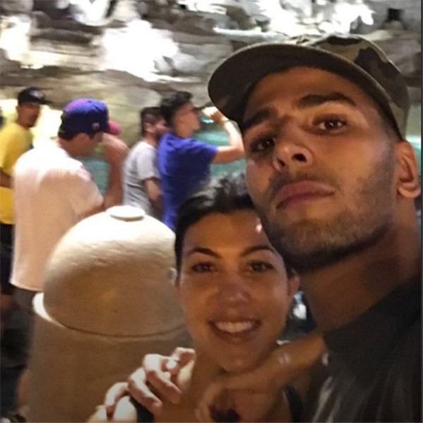 Kourtney Kardashian, Younes Bendjima, Rome