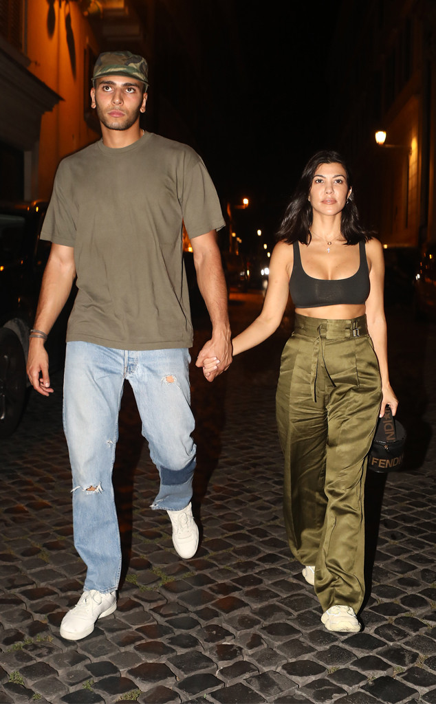 Younes Bendjima, Kourtney Kardashian