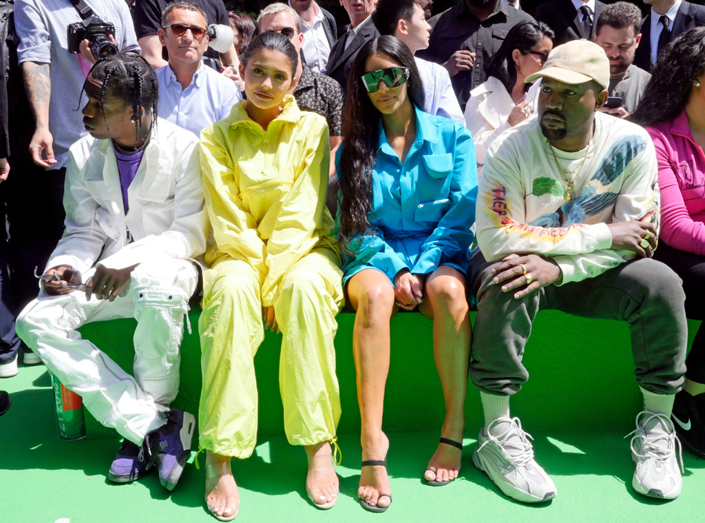 Travis Scott, Kylie Jenner, Kim Kardashian, Kanye West, New York Fashion Week 2018