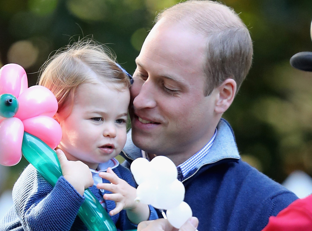 Princess Charlotte, Prince William