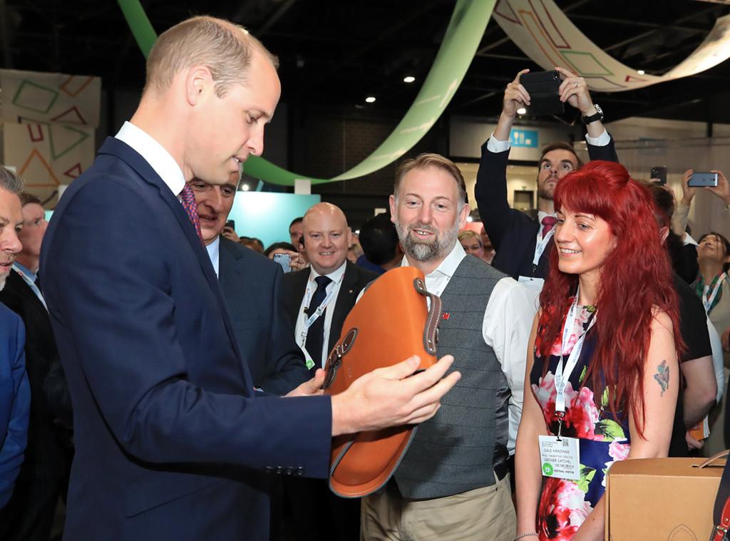 Prince William, 2018 International Business Festival