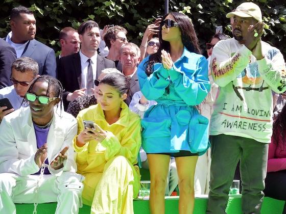 Rihanna, Bella, Kim Kardashian! Louis Vuitton's Star-Studded Menswear Show