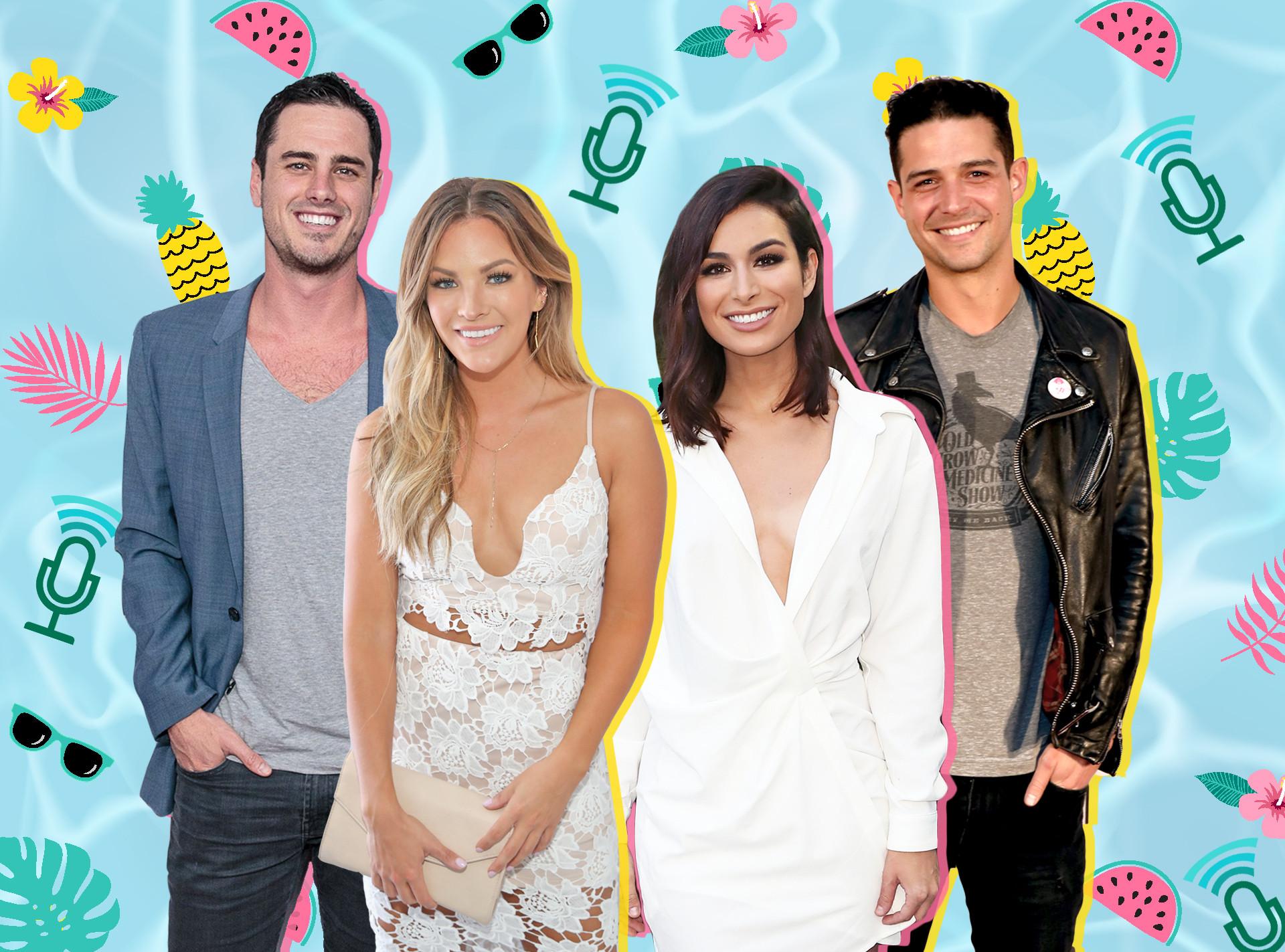 Bachelor Nation Summer Tips, Ben Higgins, Becca Tilley, Ashley Iaconetti, Wells Adams