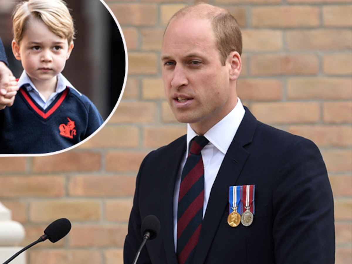 """How Prince William Earned """"Street Cred"""" With Prince George"""