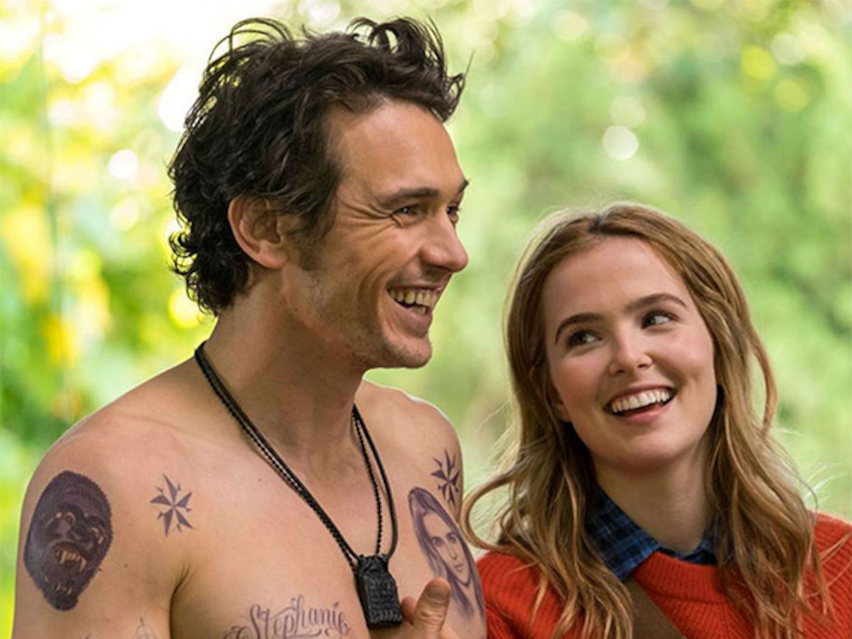 "Zoey Deutch on James Franco's Kissing Skills: ""Meh"""