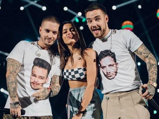 Anitta ensina frase empoderada em português para Liam Payne em entrevista