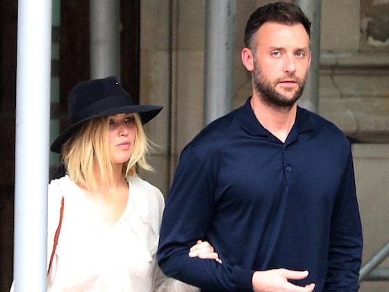 Jennifer Lawrence ne lâche pas son copain, Cooke Maroney, à New York