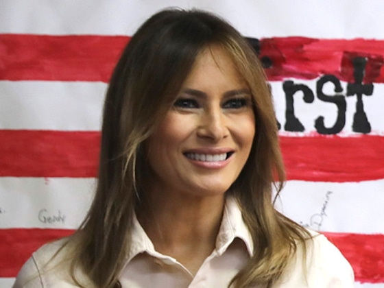 Melania Trump Debuts a New Look and the Internet Has Some Thoughts